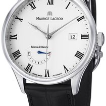 Maurice Lacroix Masterpiece Reserve De Marche Steel Mens Watch...