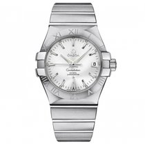 Omega Constellation  Stainless Steel Mens watch 123.10.35.20.0...