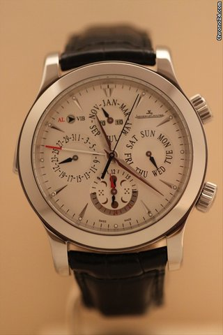 Jaeger-LeCoultre Master Grand Reveil Steel