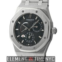 Audemars Piguet Royal Oak  Dual Time Power Reserve Black Dial...