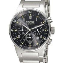 Esprit Herrenuhr ES000T31041 equalizer black metal chrono