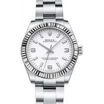 Rolex Oyster Perpetual 31 Ladies Midsize 177234-WHTSAO 31mm...