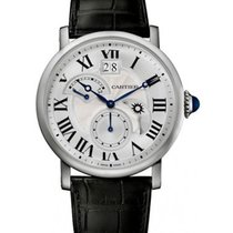 Cartier Rotonde de Cartier Retrograde Time Zone in Steel