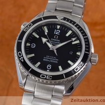 Omega Seamaster Planet Ocean Co Axial Stahl Herrenuhr 22005000