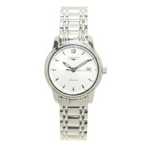 Longines Saint Imier Stainless Steel Silver Automatic L2.563.4...