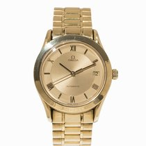 Omega Automatic Wristwatch in 18 k gold, Switzerland, c.1990