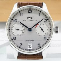 IWC IW500107 Portuguese 7 Day Automatic SS (24854)