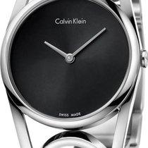 ck Calvin Klein round K5U2S141 Damenarmbanduhr Swiss Made