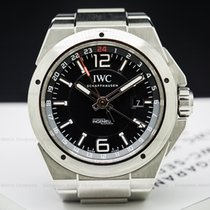 IWC IW324402 Ingenieur Dual Time Black Dial SS / SS (26255)
