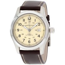 "Hamilton Men's H70555523 "" Field"" Stainless Steel..."
