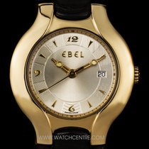 Ebel 18k Y/G Silver Dial Mid-Size Lichine Ronde 8087970