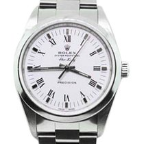 Rolex Stainless Steel Air-King 14000 Men's  Dial Watch