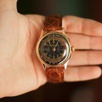 Baume & Mercier Vintage 40s Chronograph 18K Pink Gold