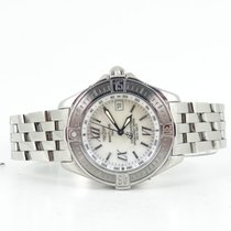 Breitling B-class mother of pearl dial