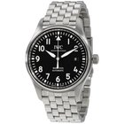 IWC Pilot Black Dial Automatic Men's Stainless Steel Watch