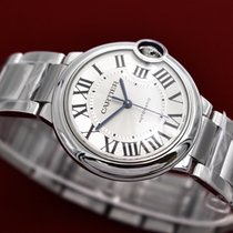 Cartier Ballon Bleu 36mm Stainless Steel Automatic NEW