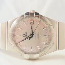 Omega Constellation Co-Axial Full Steel