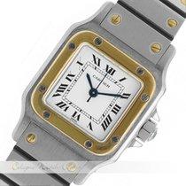 Cartier Santos Stahl / Gold Automatik
