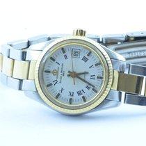 Baume & Mercier Damen Uhr 24mm Quartz Stahl/gold Rar