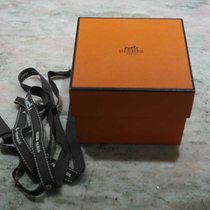 Hermès vintage orange watch box newoldstock