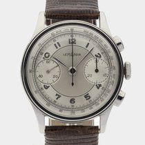 Lemania Rare Oversize Chronograph Cal.15TL / 38 mm / Serviced...