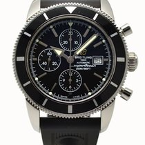 Breitling SuperOcean Heritage 46 Automatic Watch 46mm Black...