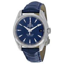 Omega Aqua Terra 150m Master Co-Axial Blue Dial Mens Watch...