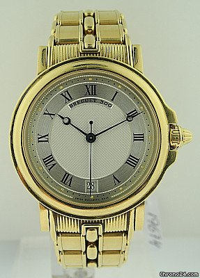 Breguet 18k Yellow Gold, Automatic Horloger de la Marine