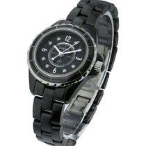 Chanel J12 Black 29mm Size H2569