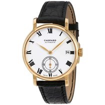 Chopard Classic Manufacture White Dial 18K Yellow Gold...