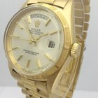 Rolex DayDate 38mm 18K Yellow Gold Mens Watch