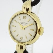 IWC Vintage Ladies solid 18K Gold Watch Cal. 41 nice Condition...