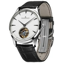 Jaeger-LeCoultre [NEW] Master Ultra Thin Tourbillon Silver...
