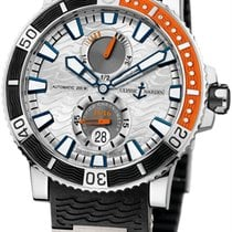 Ulysse Nardin Marine Diver Silver Dial Automatic Men's...