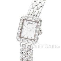 Piaget Mini Protocole Diamond Bezel White Gold Quartz Ladies...