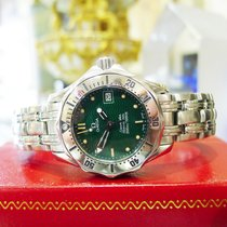 Omega Seamaster Steel 300m Jacques Mayol 1996 Limited Edition...