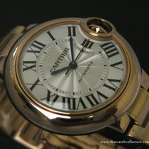 "Cartier : Ballon Blue Automatic 33 mm ""Ref.W6920096""..."