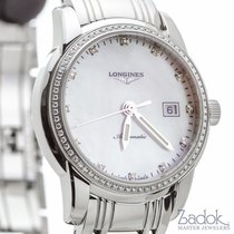 Longines Saint Imier MOP Diamond Dial 30mm Womens Watch L25630876