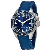 Hamilton Men's H77705345 Khaki Navy Frogman Auto Watch