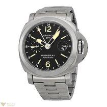 Panerai Luminor GMT Stainless Steel Men`s Watch