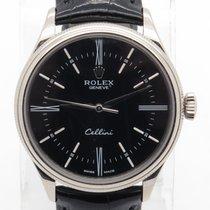 Rolex Cellini Ref. 50509 Solid 18k White Gold 39mm Retail $15,200