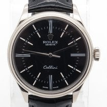 Rolex Cellini Ref. 50509 Solid 18k White Gold 39mm Retail $15,200