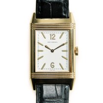 Jaeger-LeCoultre New  Reverso 18k Rose Gold White Manual Wind...