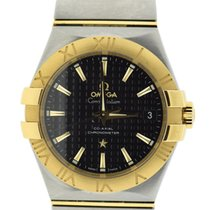 Omega Constellation Co-Axial 18K Yellow Gold/Stainless Steel