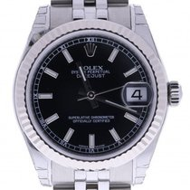 Rolex Datejust 178274 31 Mm Black Dial