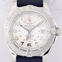 Breitling Aeromarine Colt GMT Automatic Chronometer silver Top
