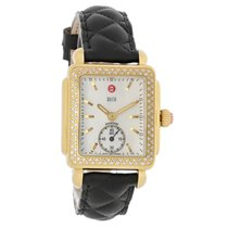 Michele Deco 16 Ladies Diamond MOP Quartz Watch MW06V01B0025