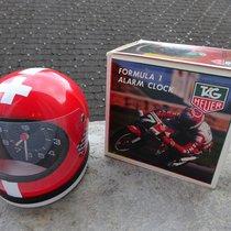 TAG Heuer Helmuhr mit Wecker Formula 1 mit Box New Old Stock