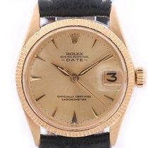 Rolex Oyster Perpetual Date Medium Gelbgold Automatik 31mm...
