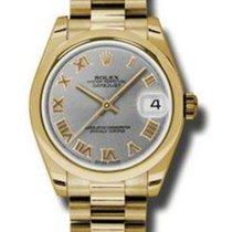 Rolex Datejust, Ref. 178248 - schwarz Diamant ZB/Präsidentband